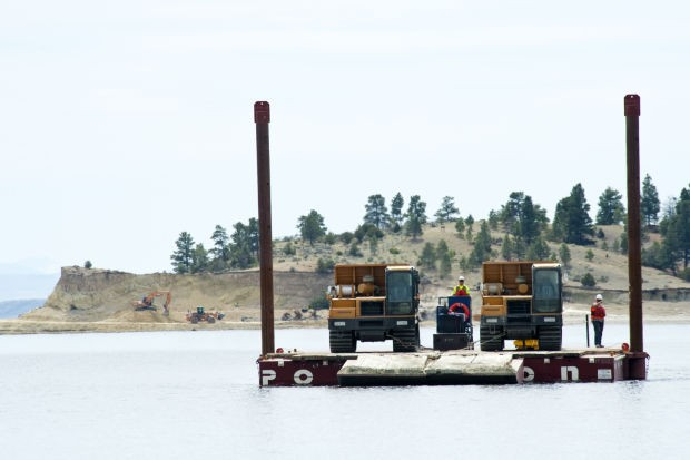 Canyon Ferry barge