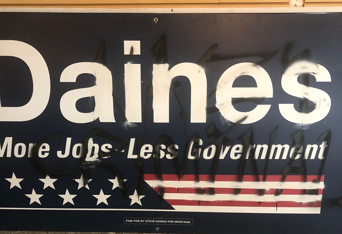 daines sign
