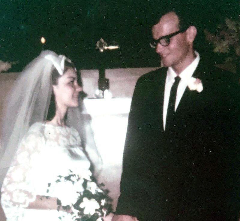 Priscilla and Larry Cunningham in 1967