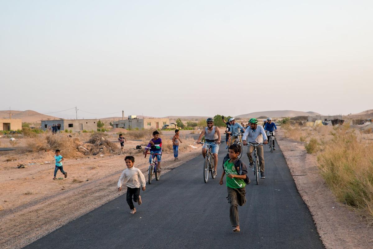 Biking in Jordan