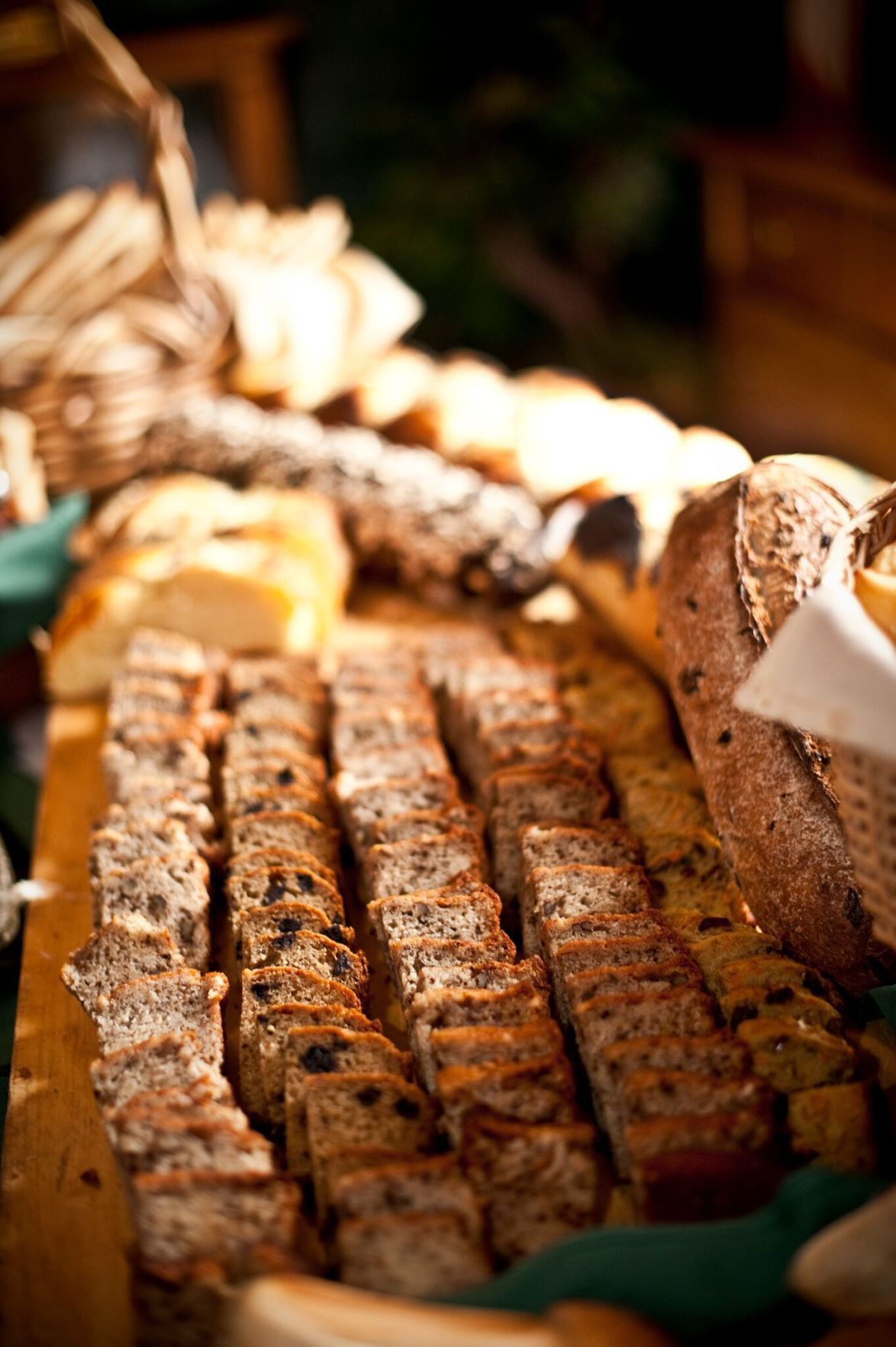 Breads at Easter buffet