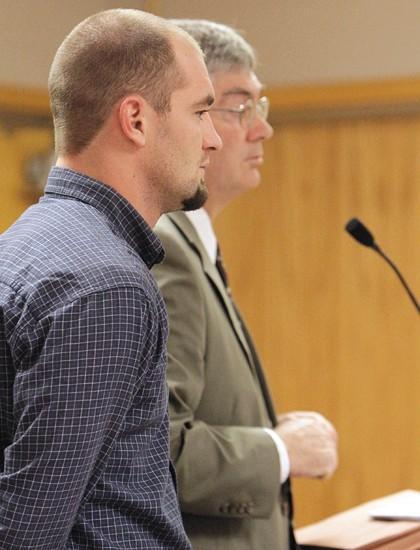 Driver enters plea in baby's death