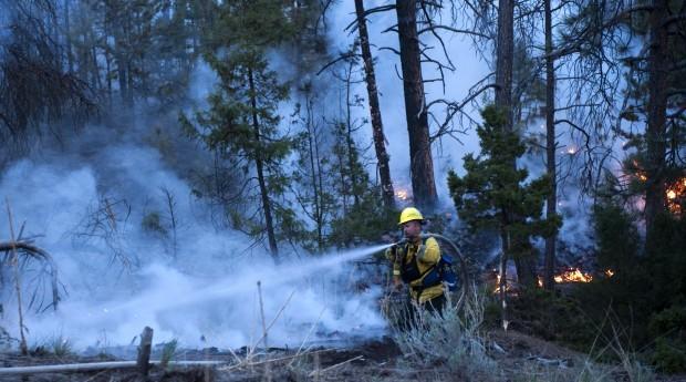 Spokane Hills Fire