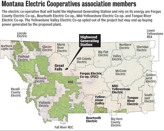 Power co-ops unwaveringly back coal plant