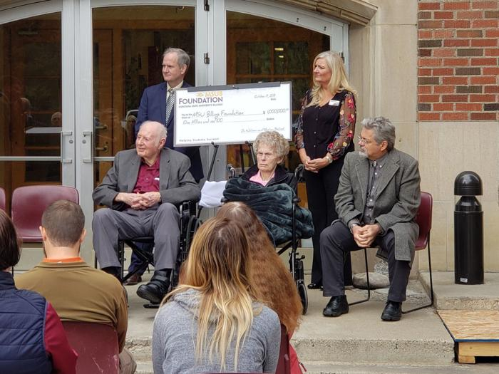 Billings couple gives $1M to MSUB's health and science building construction