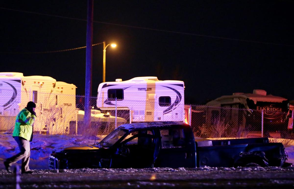 man who died in i 90 lockwood wreck involving semi pickup identified local. Black Bedroom Furniture Sets. Home Design Ideas