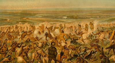 A lock of Custer's hair, Sitting Bull's rifle featured in auction of Little Bighorn collection