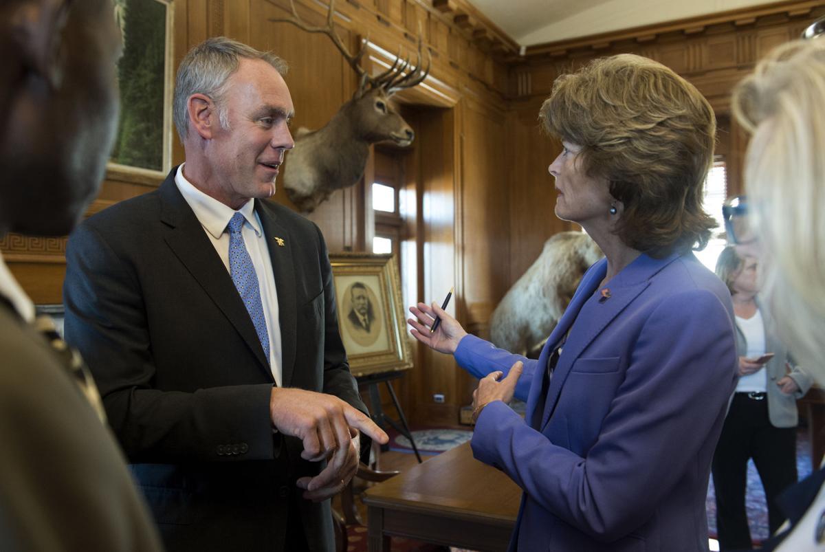Interior watchdog reviewing Zinke's calls to Alaska senators