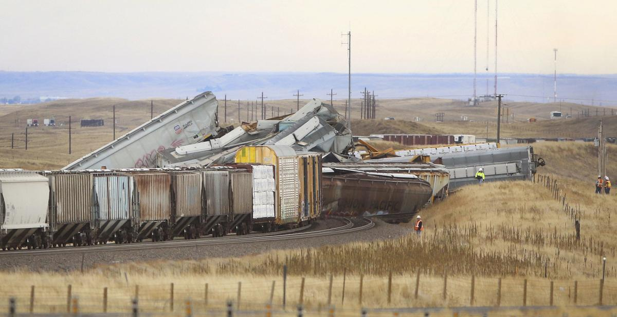 1 Dead 1 Missing In Union Pacific Train Crash In Wyoming Wyoming