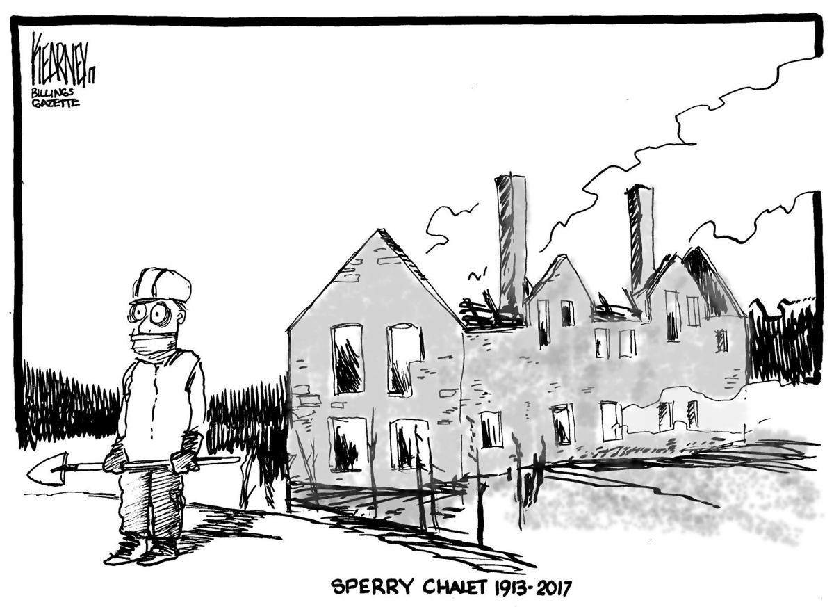 Sperry Chalet destroyed by wildfire