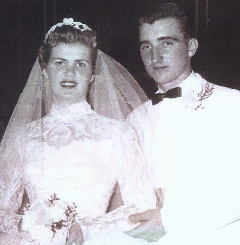 Mary and John Wiedmeier in 1956