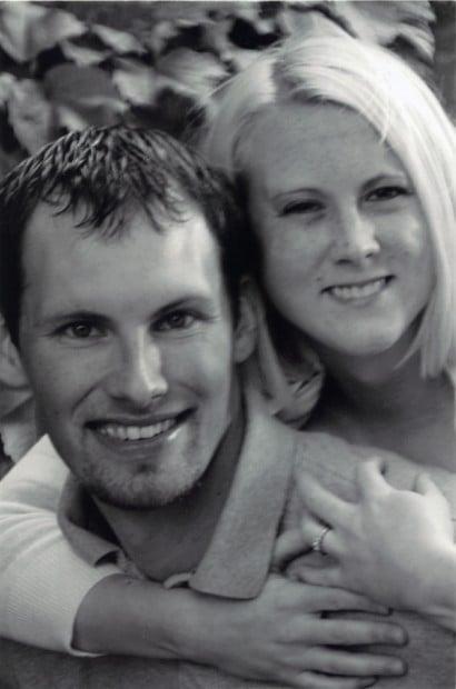 Jim Stephens and Erin Moe