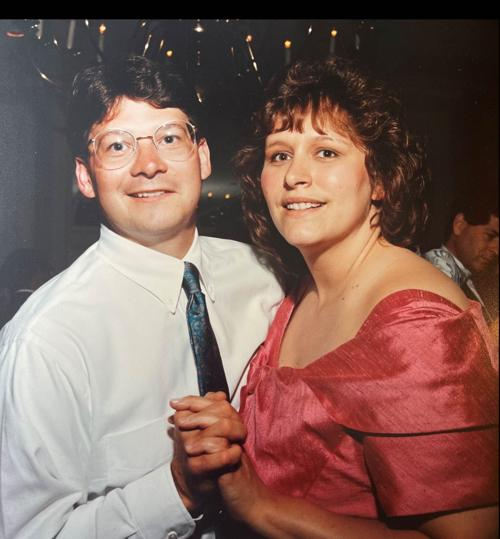 Cathy and Mike Burton