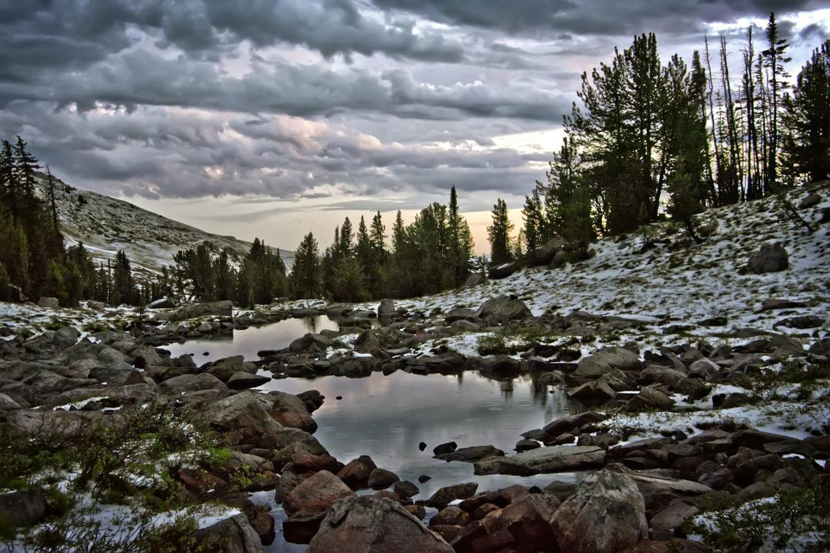 Beartooth Mountains lake