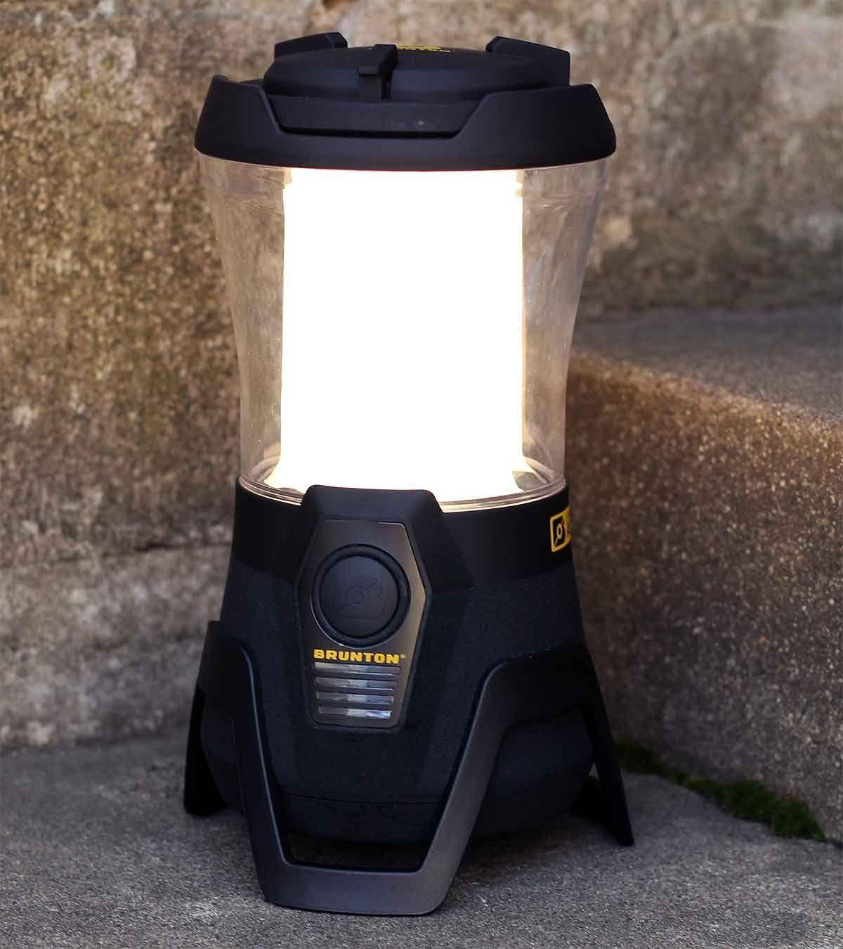 Lantern puts on light,...