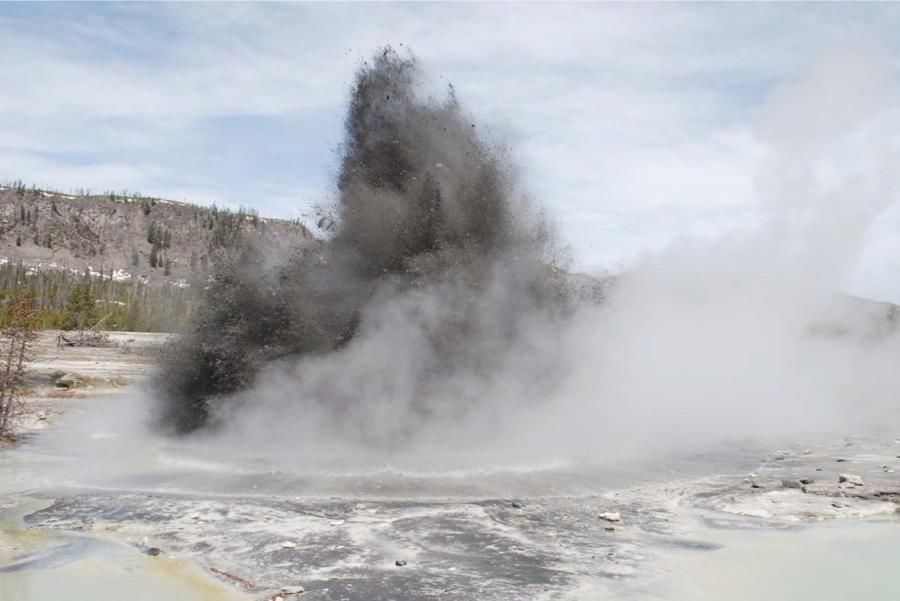 Hydrothermal explosions