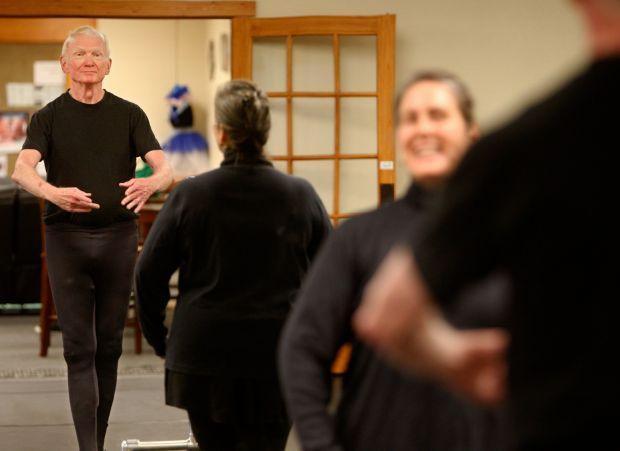 Larry Stanfel dances