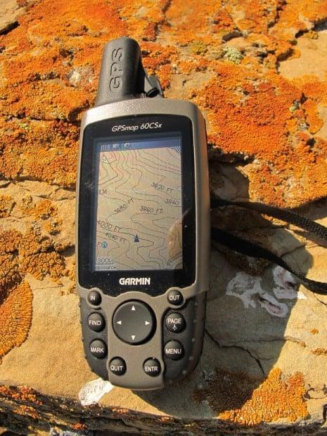 Global Positioning System  Garmin receiver