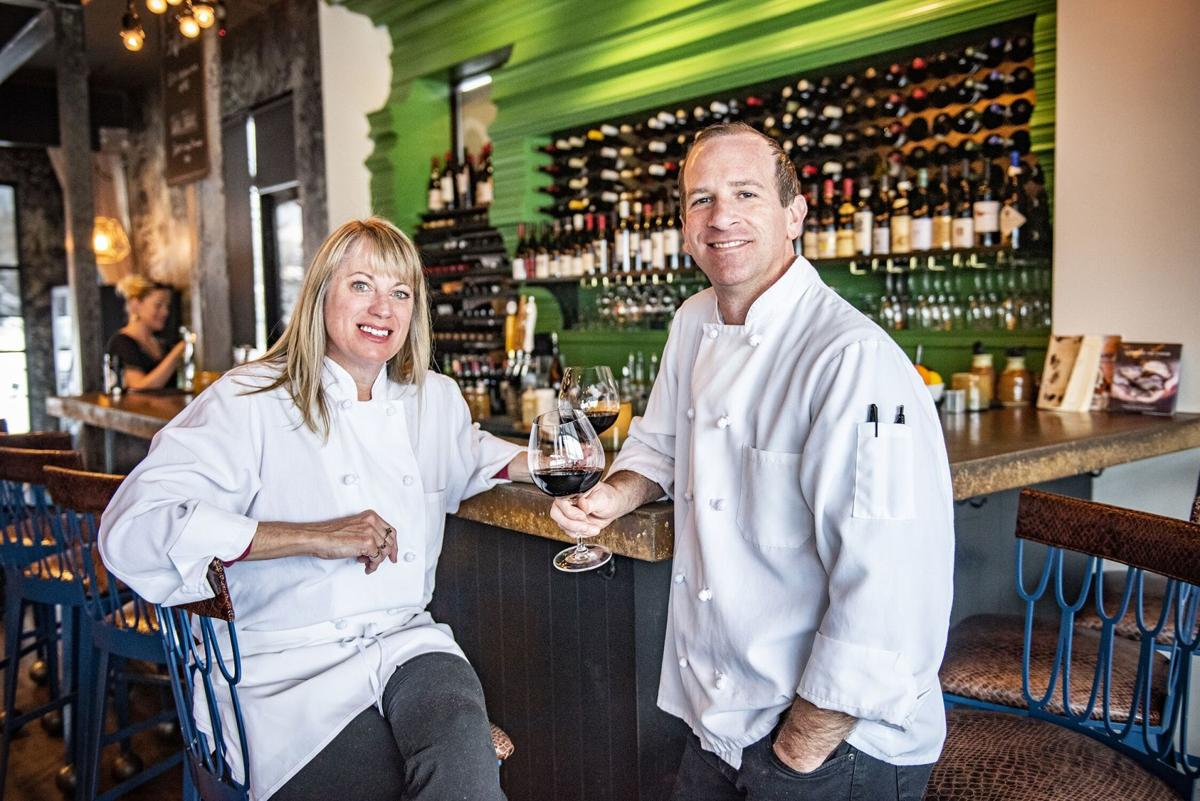 Caroline Doern (left) and Steve Kuntz