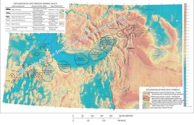 Yellowstone hot spot movement