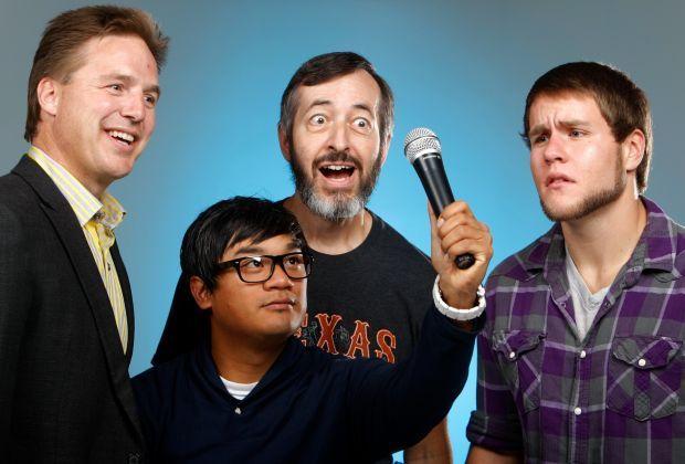 Local comedians