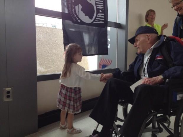 Veteran welcomed to D.C.