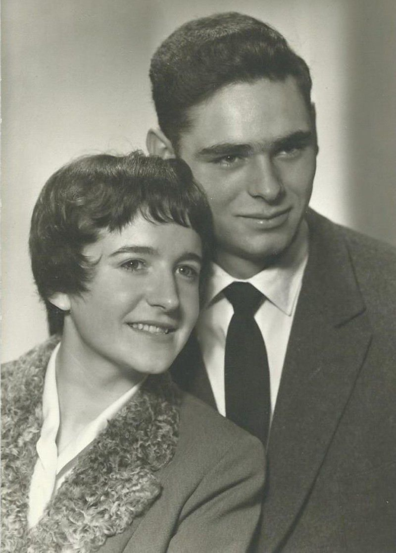 Hannelore and Ervin Sharbono in 1957