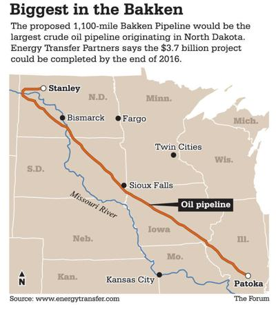 South Dakota regulators approve large Bakken pipeline