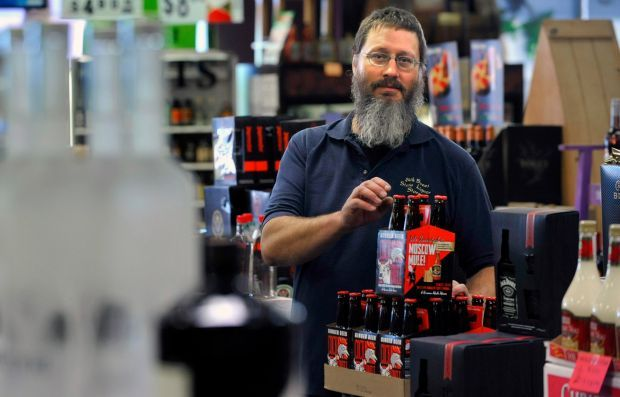 Paul Barkhoff from the Billings State Liquor Store