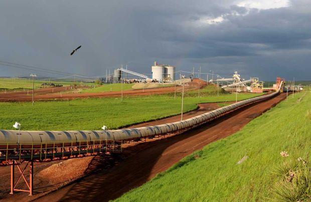 Western Energy conveyor belt
