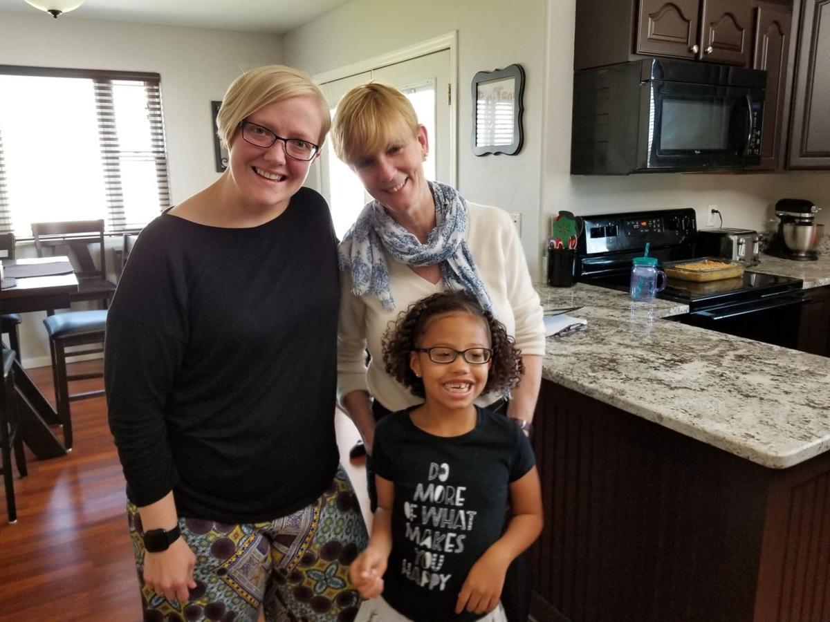 Breteni Morgan-Berg, left, and her daughter Kamiyah