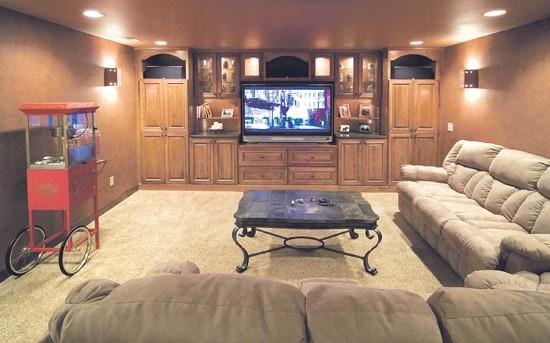 Dingy To Dazzling: Beautiful Basement Makeovers