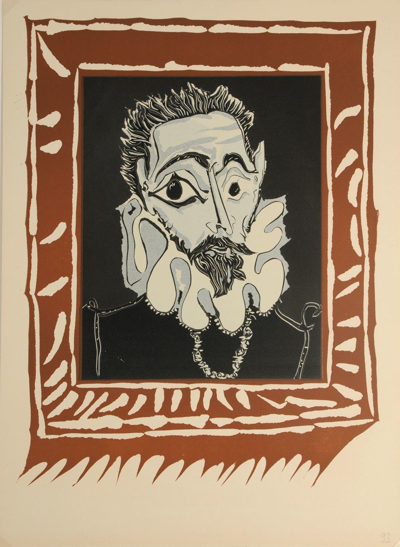 Pablo Picasso Linocut Print