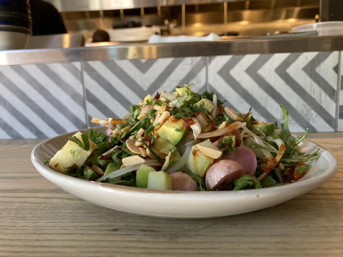 Radish Arugula salad at The Camino