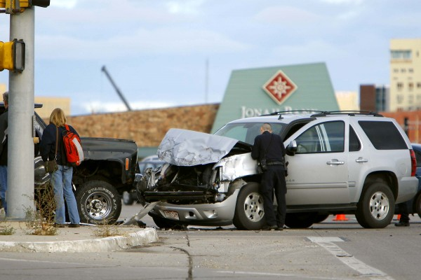 Wyoming accident data