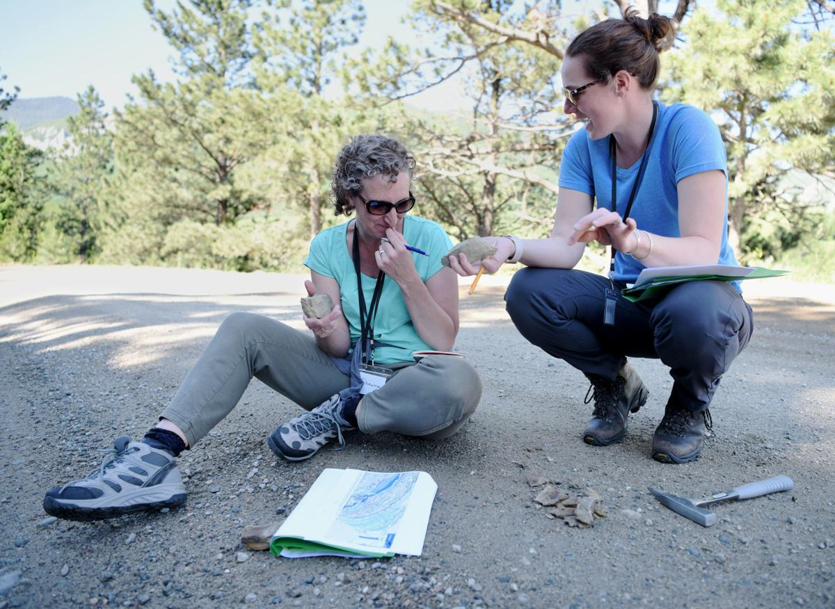 Teachers participate in training in the Custer Gallatin Forest