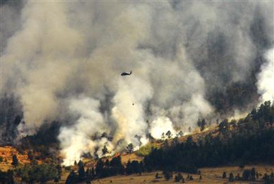 Sheep Herder Hill fire
