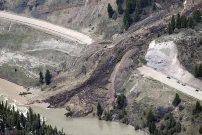 WYDOT officials say highway will be closed until mudslide