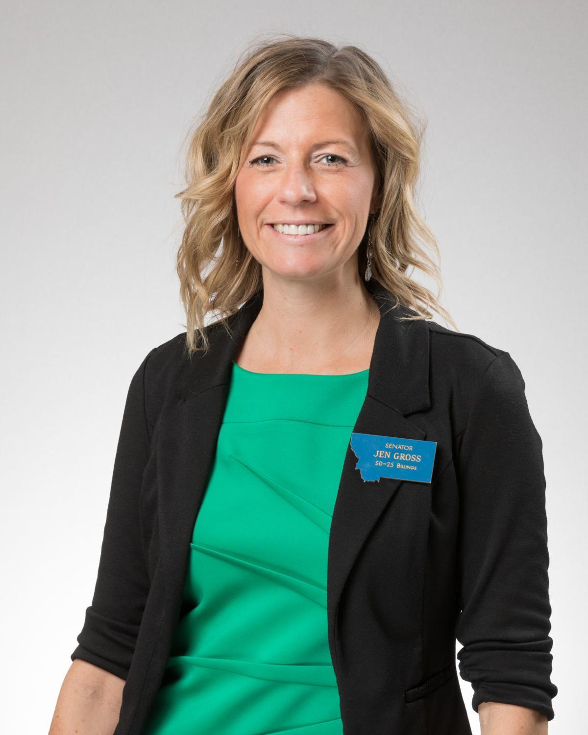Sen. Jen Gross, D-Billings