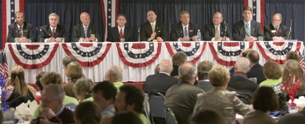 Republican candidates for governor 2012