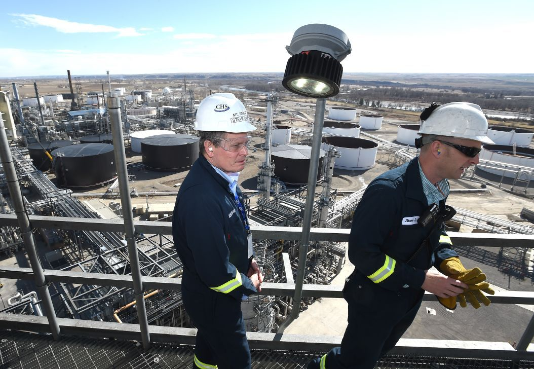 Refinery tour from coker
