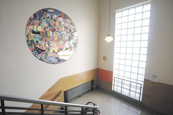 On the wall: Dirk's mural stirs emotions, controversy
