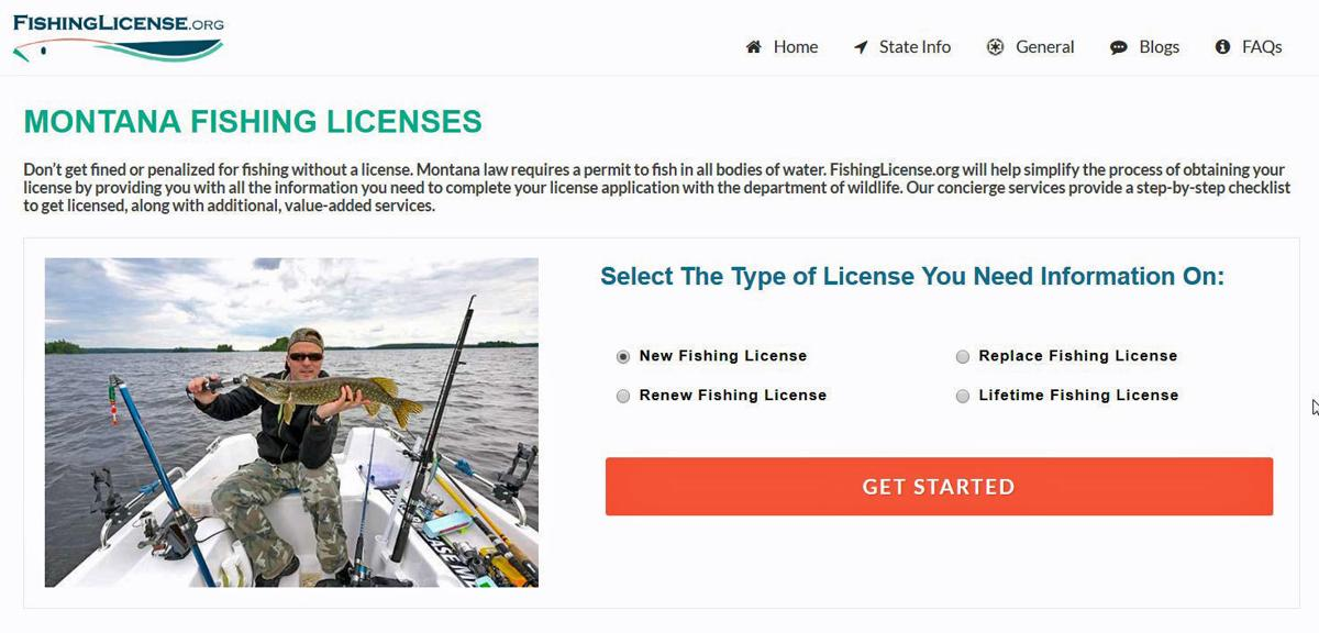 angler duped by website claiming to sell fishing licenses, warns of