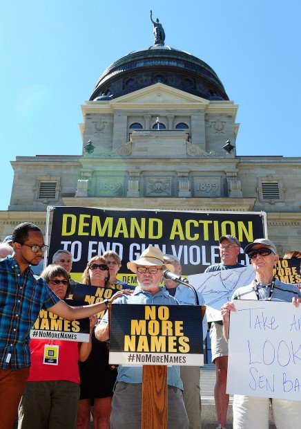 """Paul S. John and """"No More Names"""" advocate Chip Clawson"""