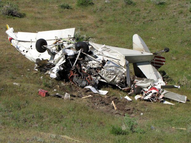 Pilot injured in crash on Monday