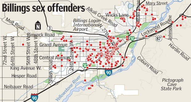 Officials Billings takes unfair share of sex offenders Crime