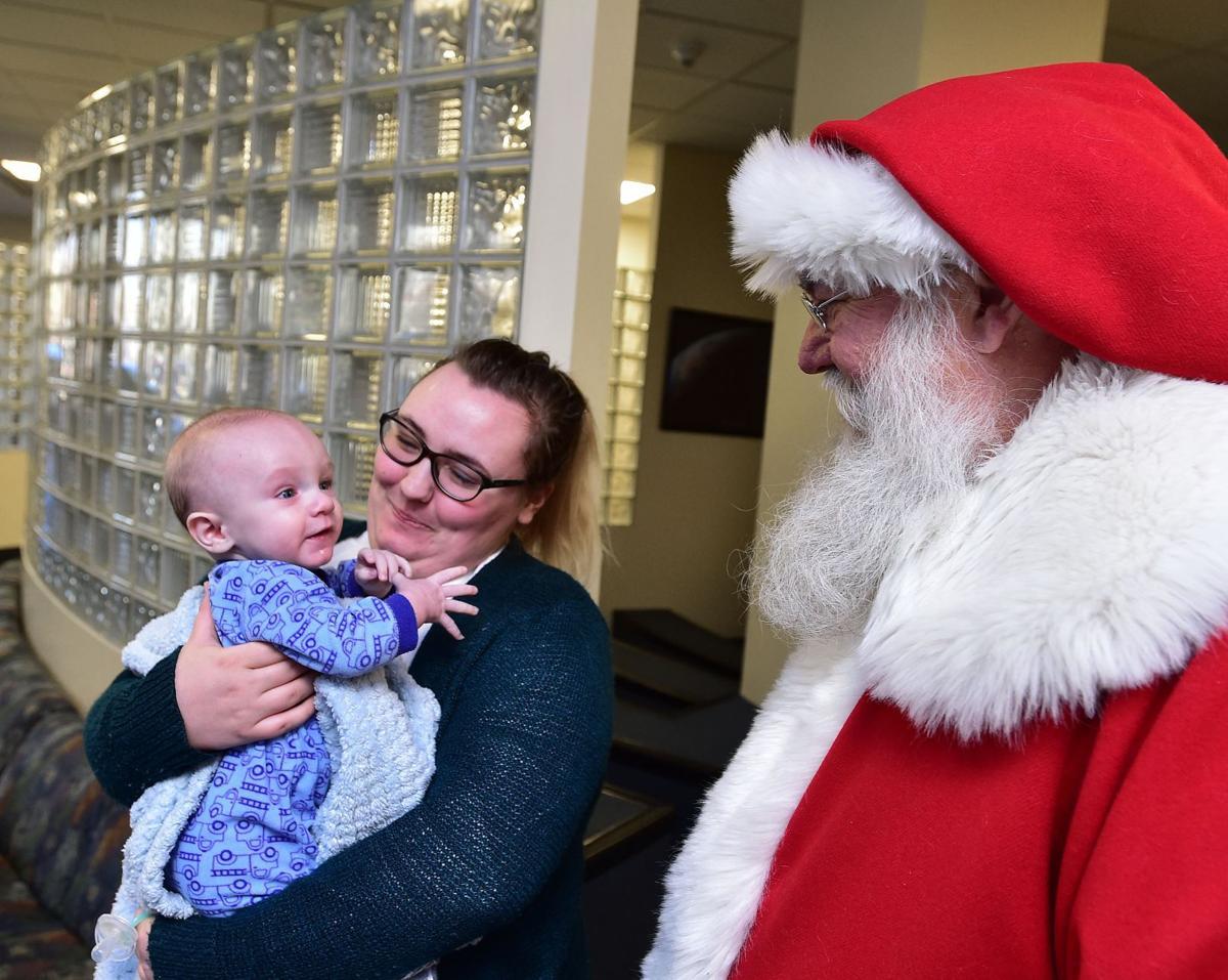 Santa at Billings Clinic