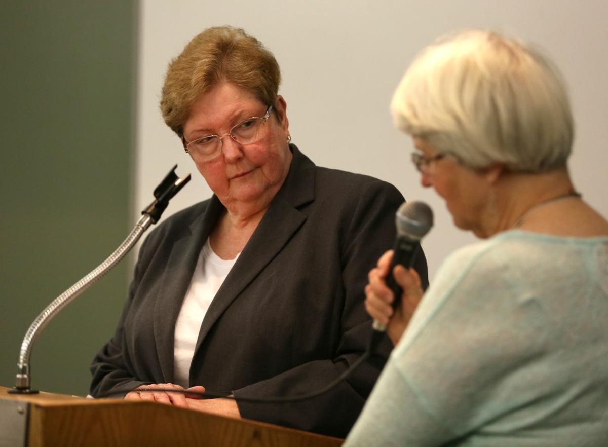 Tina Volek and Barbara Gulick