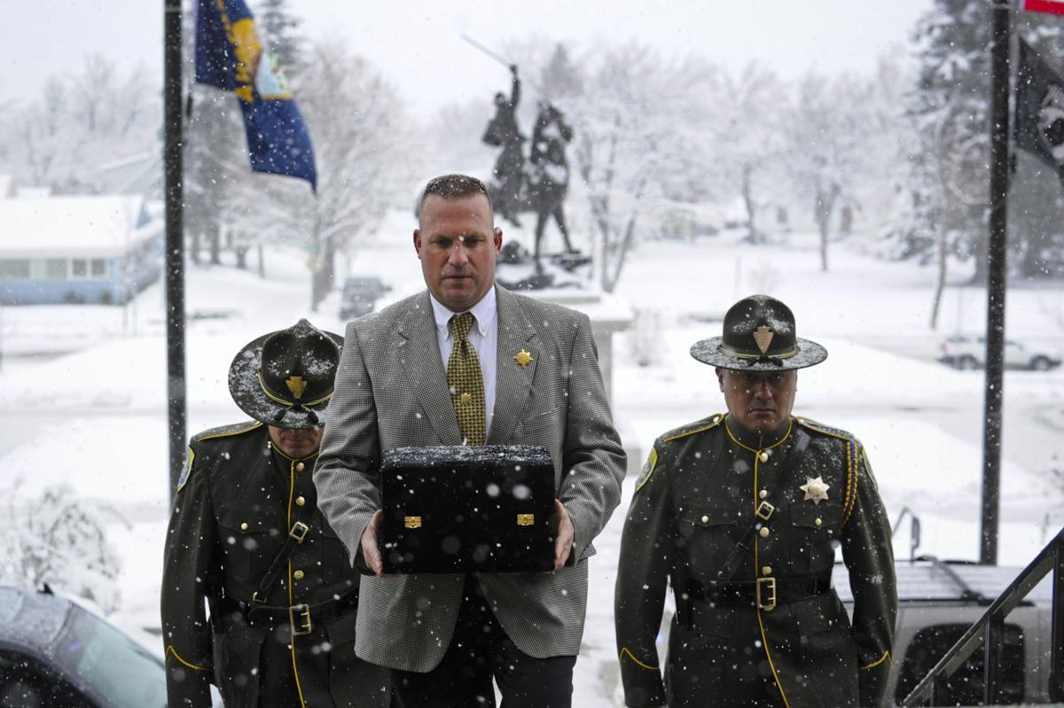 Retired Montana Highway Patrol trooper Mike Feldman