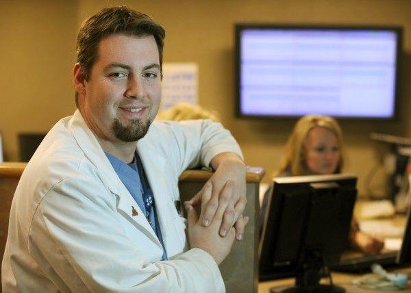Dr. Adam Zelka in residency training